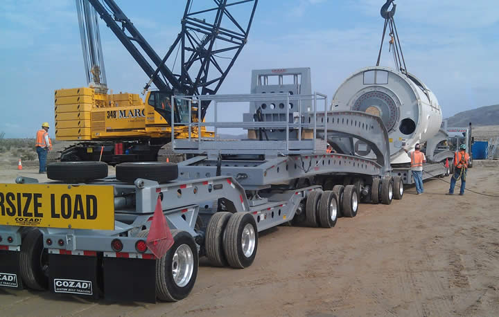 Cozad 9-axle to 13-axle conversion