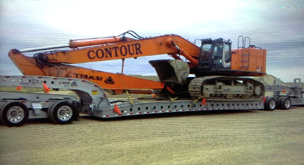 Cozad 9-Axle Steerable with deck extensions work in Canada