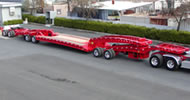 Cozad 70 Ton Baby 9 Booster Trailer