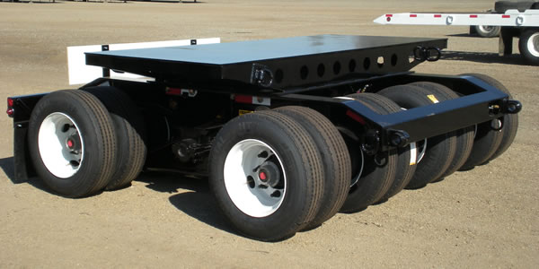 16-Tire Dolly for Oil Fields