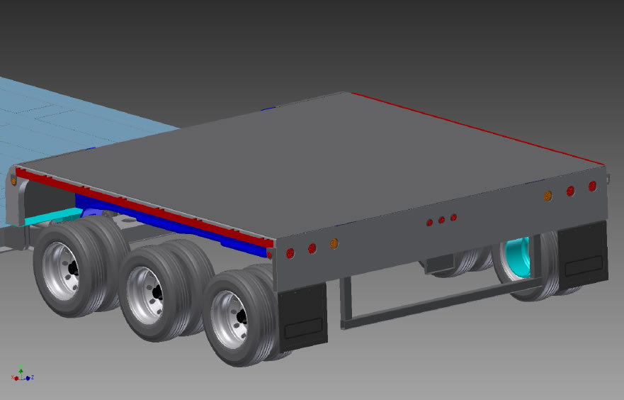 Cozad! Trailers - Satellite Road and Air Transport System