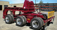 Steerable 3-Axle Dolly and Beam Deck