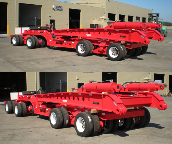 Cozad Steerable Dolly with Lifting Towers