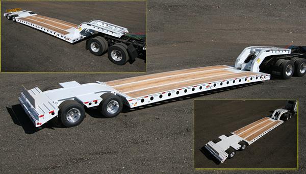 35 Ton 2-Axle 2-Frame Wide Neck