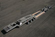 85 Ton Steerable Trailer 3+3+3