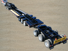 85 Ton Booster Trailer 3x3x3