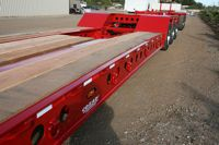 Cozad 60 Ton 3+2 28' Deck 11' Hydra Neck with 2 Axle Booster