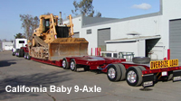california-baby-9-axle-trailer